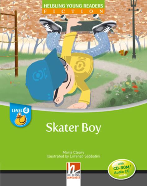 Skater Boy, mit 1 CD-ROM/Audio-CD - Coverbild
