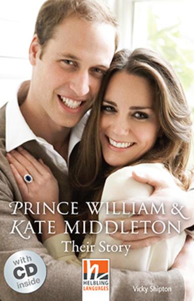 Prince William & Kate Middleton, mit 1 Audio-CD - Coverbild