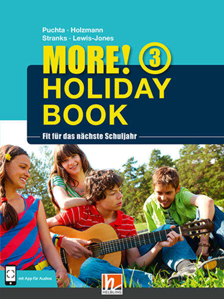 MORE! Holiday Book 3, mit 1 Audio-CD - Coverbild