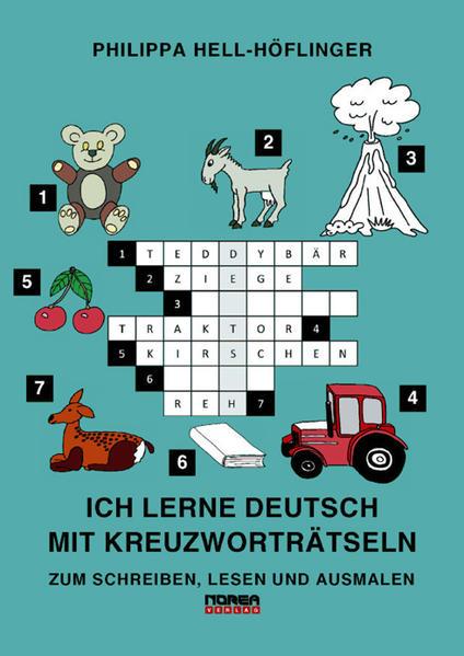 Ich lerne Deutsch mit Kreuzworträtseln - Coverbild