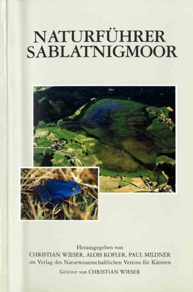 Naturführer Sablatnigmoor - Coverbild