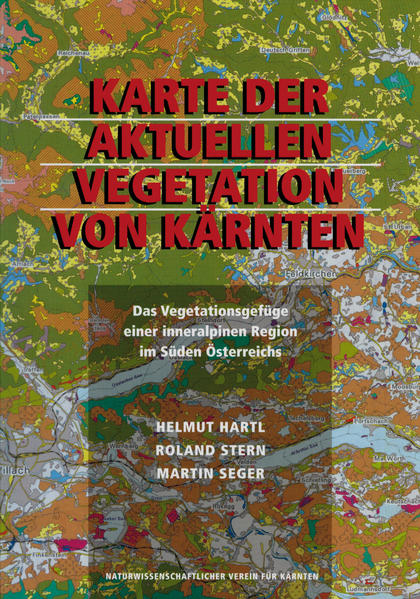 Karte der aktuellen Vegetation von Kärnten - Coverbild