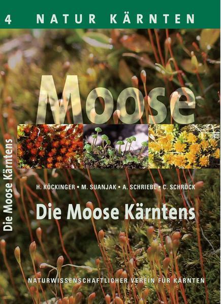 Die Moose Kärntens - Coverbild