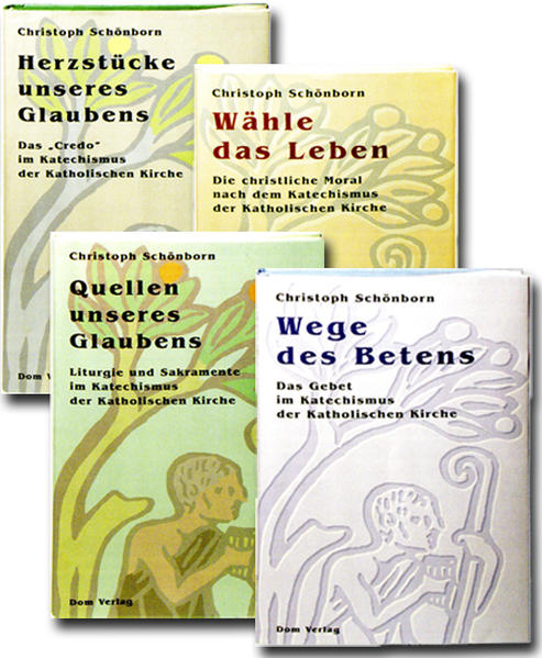 Kommentare zum Katechismus der katholischen Kirche in vier Bänden - Coverbild