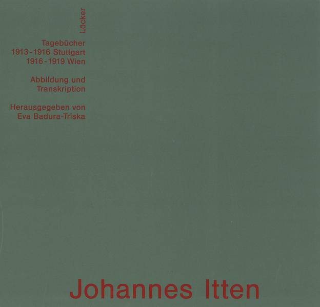 Johannes Itten - Coverbild