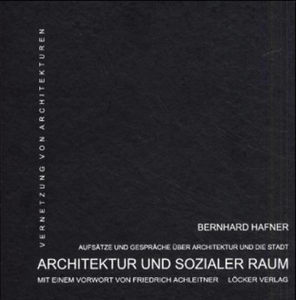 Architektur und sozialer Raum - Coverbild