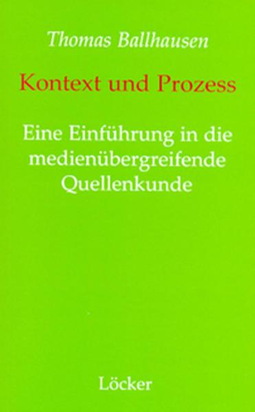 Kontext und Prozess - Coverbild