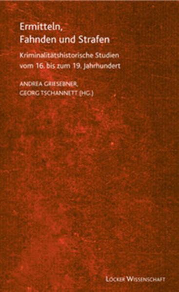 Ermitteln, Fahnden und Strafen - Coverbild