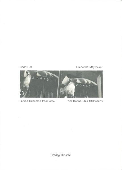 Der Donner des Stillhaltens /Larven, Schemen, Phantome - Coverbild