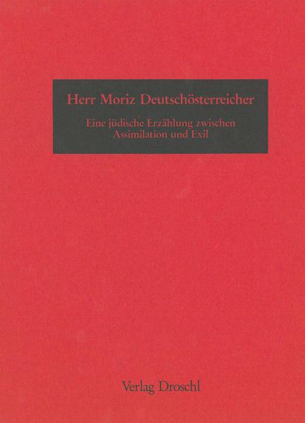 Herr Moriz Deutschösterreicher - Coverbild