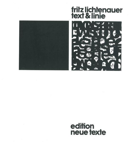 Text und Linie - Coverbild