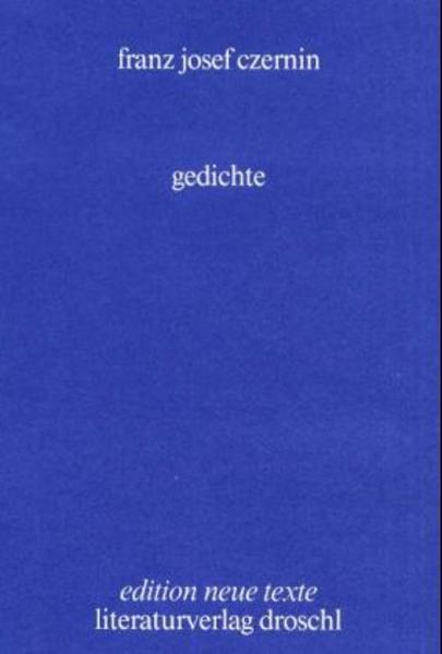 Gedichte - Coverbild