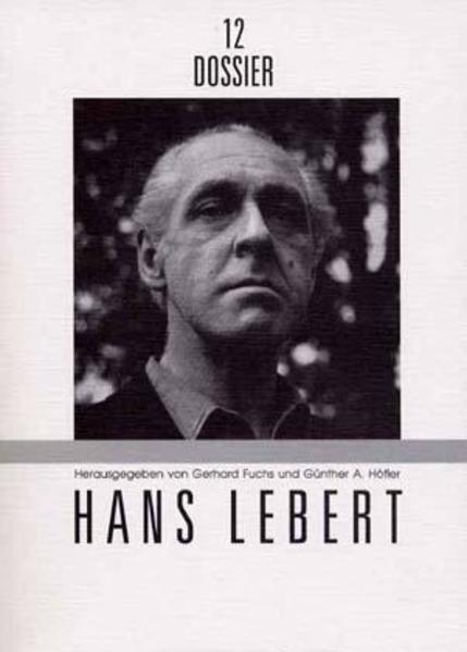 Hans Lebert - Coverbild