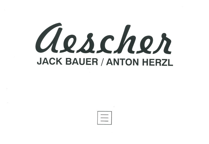 Aescher - Coverbild