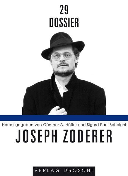 Dossier 29: Joseph Zoderer - Coverbild