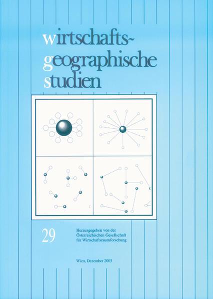 Wirtschaftsgeographische Studien - Coverbild