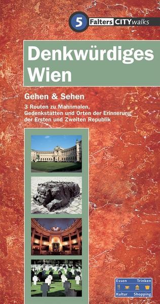 Denkwürdiges Wien - Coverbild
