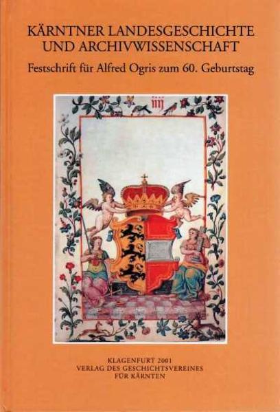 Kärntner Landesgeschichte und Archivwissenschaft - Coverbild