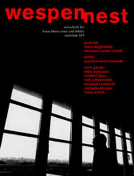 Wespennest. Zeitschrift für brauchbare Texte und Bilder / Vom Glück - Coverbild
