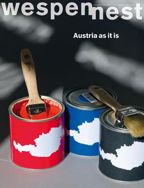 Wespennest. Zeitschrift für brauchbare Texte und Bilder / Austria as it is - Coverbild