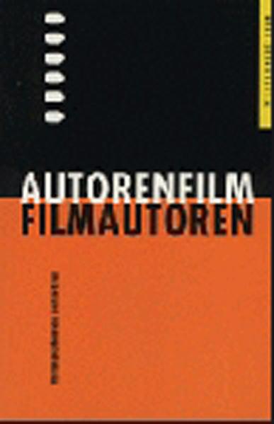 Autorenfilm - Filmautoren - Coverbild