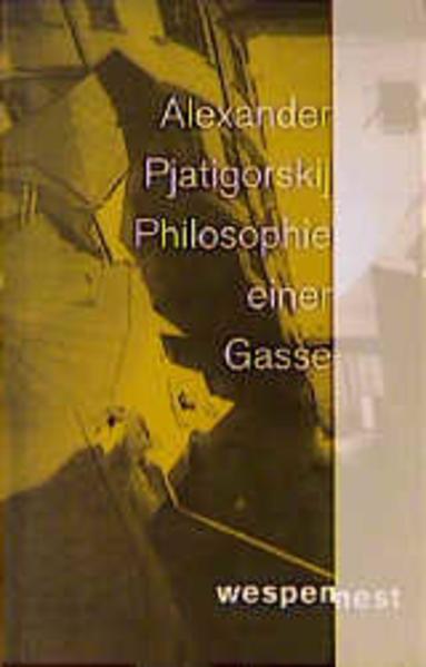 Philosophie einer Gasse - Coverbild