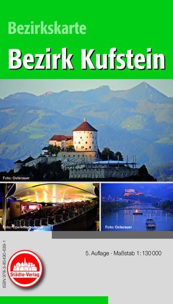 Freizeitkarte Kufstein (Österreich) - Coverbild
