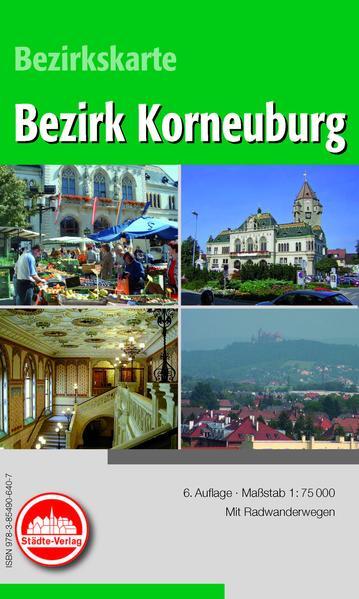 Freizeitkarte Korneuburg (Österreich) - Coverbild
