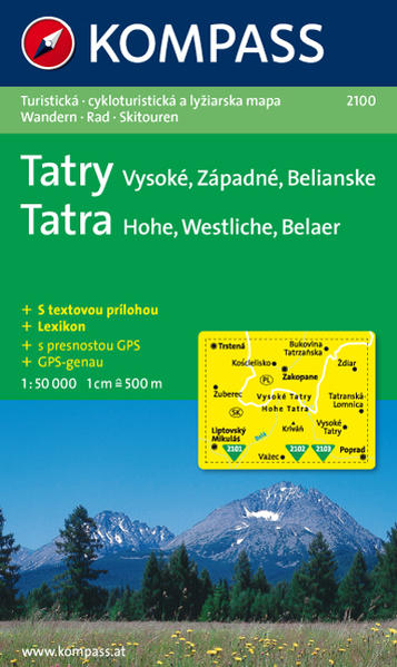Vysoké - Západné - Belianske Tatry  Hohe - Westliche - Belaer Tatra - Coverbild