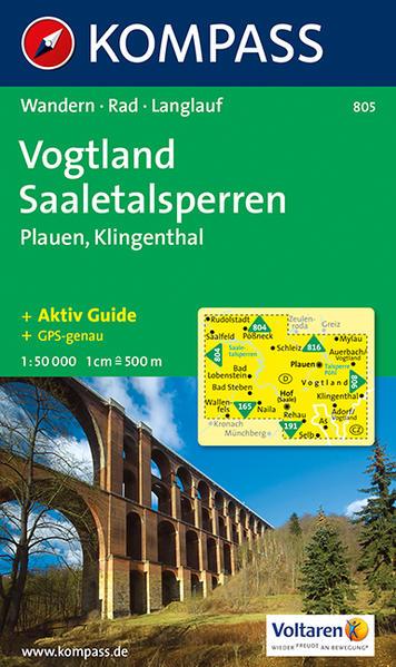 Vogtland - Saaletalsperren - Plauen - Klingenthal - Coverbild