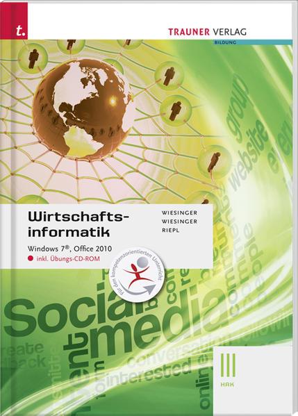 Wirtschaftsinformatik III HAK, Windows 7, Office 2010 III HAK - Coverbild