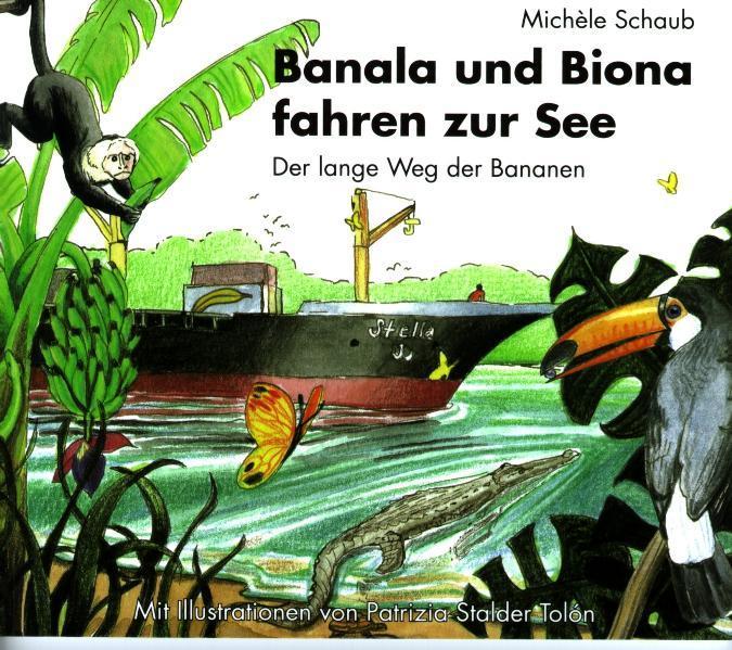 Banala und Biona fahren zur See - Coverbild