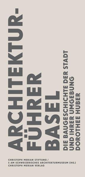Architekturführer Basel - Coverbild