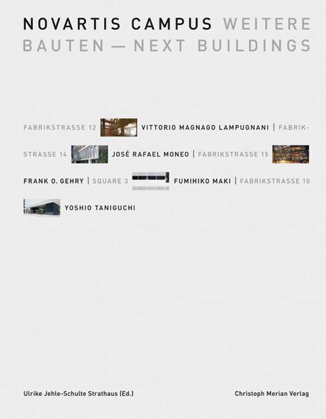 Novartis Campus - Weitere Bauten - Next Buildings - Coverbild