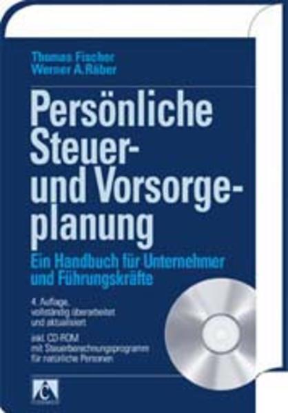 Persönliche Steuer- und Vorsorgeplanung - Coverbild