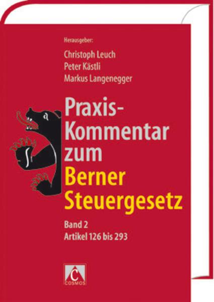Praxis-Kommentar zum Berner Steuergesetz, Band 2 - Coverbild