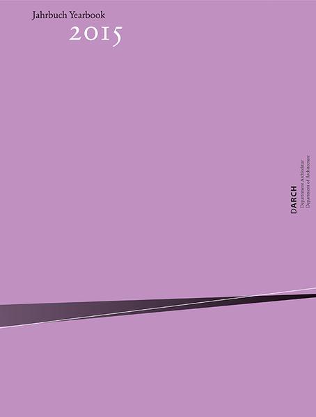 Jahrbuch / Yearbook 2015 - Coverbild