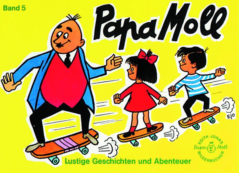 Papa Moll Band 5, gelb - Coverbild