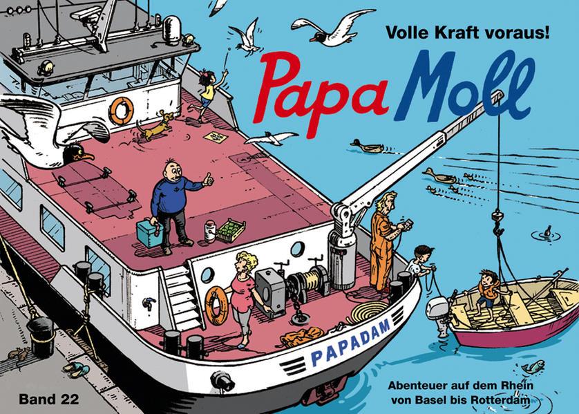 Papa Moll Volle Kraft voraus! - Coverbild