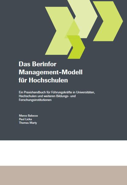 Kostenloser Download Das Berinfor Management-Modell für Hochschulen Epub