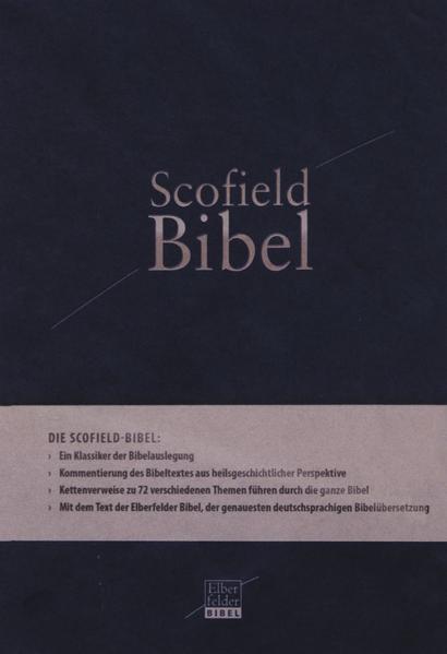 Scofield-Bibel, Kunstleder PU-Einband - Coverbild