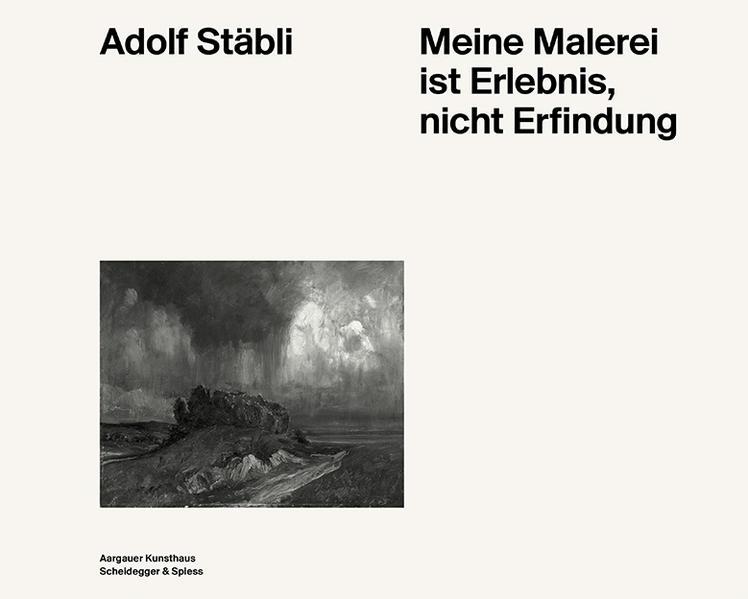 Adolf Stäbli - Coverbild