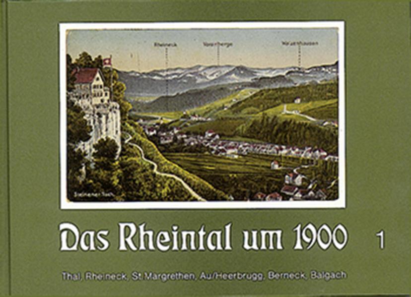 Das Rheintal um 1900 / Das Rheintal um 1900 - Coverbild