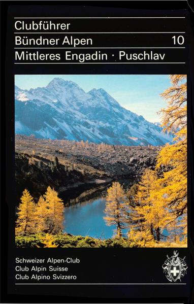 Clubführer Bündner Alpen 10 - Coverbild
