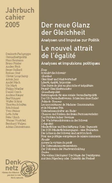 Jahrbuch Denknetz 2005 - Coverbild