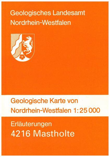 Geologische Karten von Nordrhein-Westfalen 1:25000 / Mastholte - Coverbild