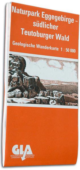 Geologische Wanderkarte des Naturparks Eggegebirge und südlicher Teutoburger Wald - Coverbild