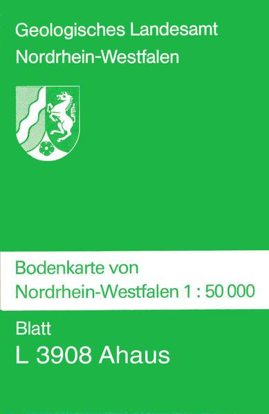 Bodenkarten von Nordrhein-Westfalen 1:50000 / Ahaus - Coverbild