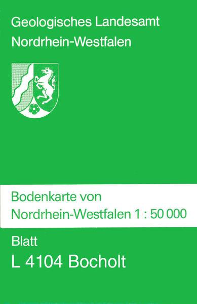 Bodenkarten von Nordrhein-Westfalen 1:50000 / Bocholt - Coverbild