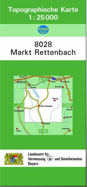 TK25 8028 Markt Rettenbach - Coverbild